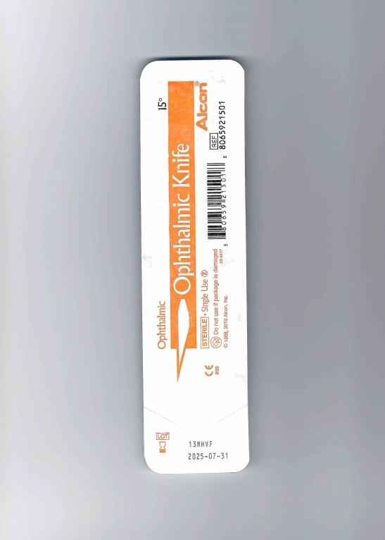 заказать, купить Ніж офтальмологічний Ophtalmic Knife 15 / 30 градусів ° по низкой цене в Украине