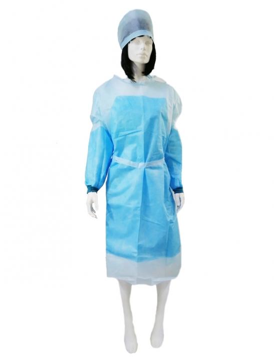 заказать, купить Халат хірургічний не стерильний на зав'язках (ламіновані рукава і фартух). Розміри XL-XXXL по низкой цене в Украине