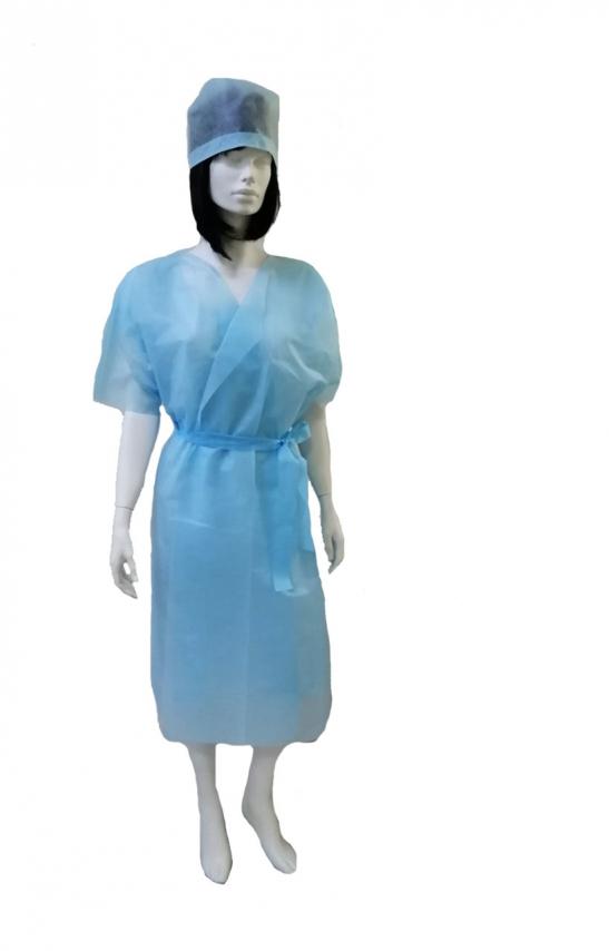 заказать, купить Кімоно (халат без рукавів), одноразові медичні халати спанбонд 25 г / м² по низкой цене в Украине
