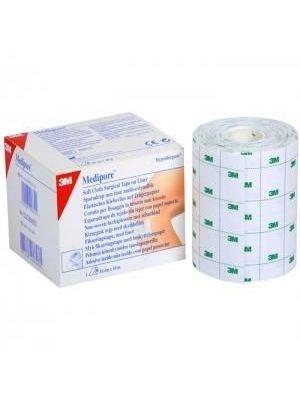 заказать, купить Мягкий эластичный пластырь на лайнере Medipore по низкой цене в Украине
