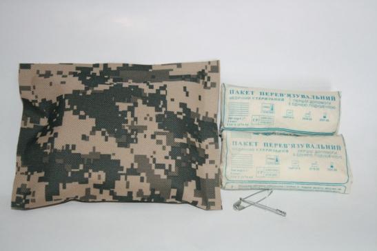 заказать, купить ІПП-2 (комплект для перев'язки, вологонепроникний) по низкой цене в Украине