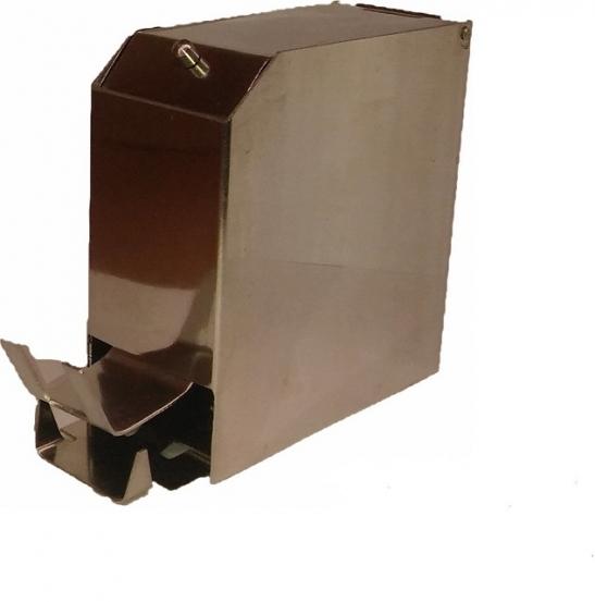 заказать, купить Контейнер для валиків металевий (нержавіюча сталь) автоклавуємий, прес-тип по низкой цене в Украине