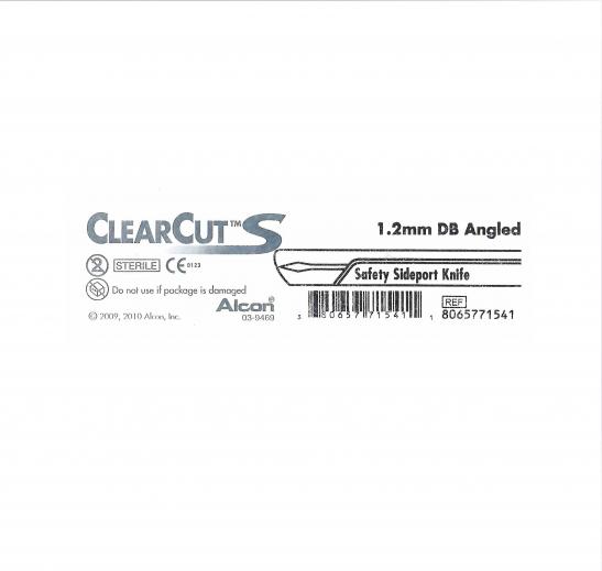 заказать, купить Ніж офтальмологічний ClearCut S Sideport 1.2 мм, стерильний  по низкой цене в Украине