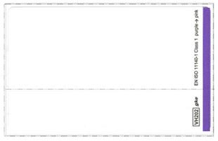 заказать, купить Одноразові етикетки для принтерів без ріжучого пристрою по низкой цене в Украине